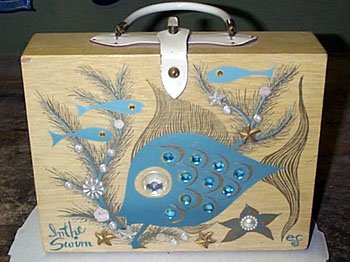 Collins Box Bag In The Swim 1963 Auctioned On Ebay For 51 00 April 2000 By Doboy
