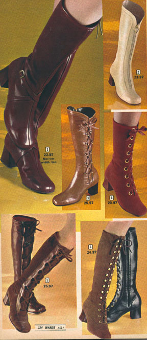 Go Go Boots A Foot First Jump Into The Wacky World Of Mod